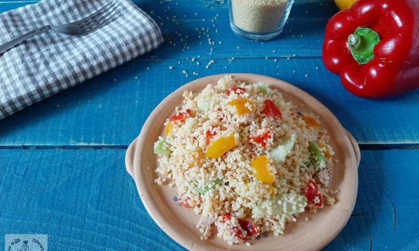 Cous cous in insalata con peperoni